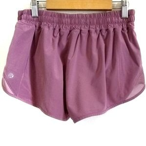 Lululemon Athletica Hotty Hot Shorts Pink Sz 8